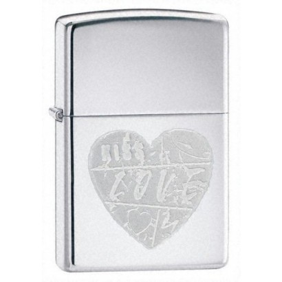 Zippo Tulemasin FOR THE LOVE OF CHROME