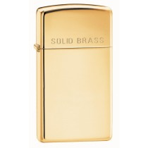 Zippo Tulemasin Slim Hi SOLID BRASS Engraved