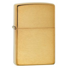 Zippo Tulemasin Brushed Brass Windproof
