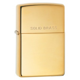 Zippo Tulemasin Solid Brass Engraved High Polish