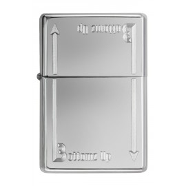 Zippo Tulemasin BOTTOMS UP LOGO