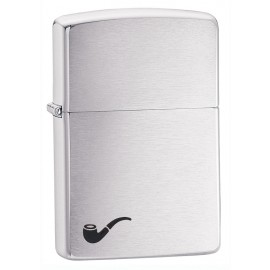Zippo Tulemasin Brushed Chrome Pipe Lighter