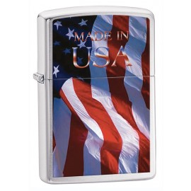 Zippo Tulemasin Made In Usa Flag