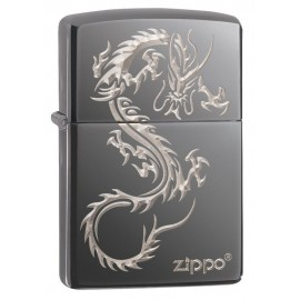 Zippo Tulemasin Black Ice® Chinese Dragon